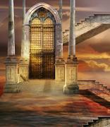 Soaring Gate - stock photo