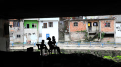 Favela Family Stock Footage