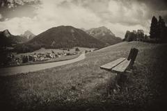 Italian Alps Landscape Stock Photos