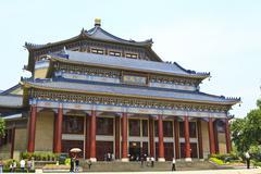 Sun Yat-sen Memorial Hall Guangzhou, Kiina Kuvituskuvat
