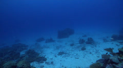 Ocean scenery too far away, on cleaning station, HD, UP32578 - stock footage
