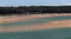 Vila Nova de Milfontes , Furnas Beach Stock Footage