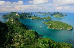Ang thong national marine park, thailand Stock Photos