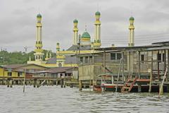 Kampong ayer, bandar seri begawan, brunei, southeast asia Stock Photos