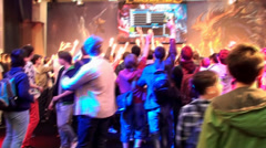 Bucharest, May The 10th, East European Comic Con, League Of Legends Stage - stock footage