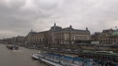 Paris - France - Musée d'Orsay - HD Stock Footage