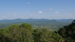Blueridge Mountain Range Stock Footage
