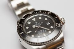 Stock image of a Rolex Deepsea Sea Dweller - stock photo