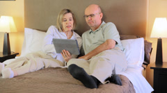 Couple In Hotel Room Stock Footage