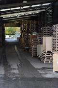Stock Photo of Outdoor storage facility
