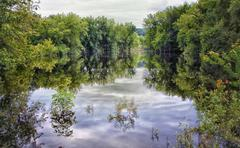 Spring Floods Stock Photos