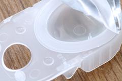 Disposal Contact lense Stock Photos