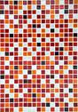 Stock Photo of red ceramic mosaic background, vertical