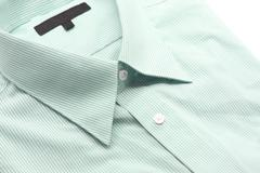 Stock Photo of green business shirt