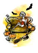 Halloween - stock illustration