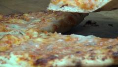 Pizza, Fast Foods, Junk Foods, Italian Cuisines - stock footage