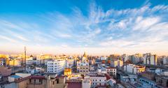 Early morning in buenos aires, argentina Stock Photos