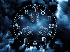 Astrology Background Stock Illustration