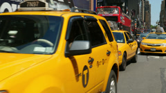 4K Times Square Traffic 4 Stock Footage