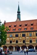 Arhitecture from Ulm - stock photo
