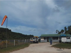 Kadavu airport, people or person in shot, UP11763 - stock footage