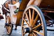 Stock Photo of Old wood carriage