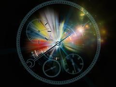 Stock Illustration of Metaphorical Chronometer