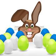 Easter bunny happy creative design Piirros