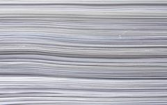 Pile of paper Stock Photos