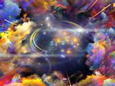 Cloud tunnel Stock Illustration