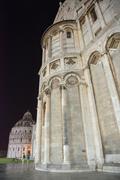 Pisan katedraali Ihmeiden aukiolla - Italia Kuvituskuvat