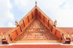 Thai gable Stock Photos