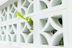 Ventilator wall block Stock Photos