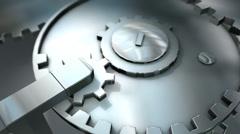 Bidirectional gears mechanic, technology, machinery, wheel, industry Arkistovideo