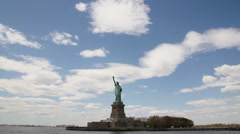 Statue of Liberty - 4k Stock Footage