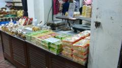 Warorot Market or Kad Luang Chiangmai, Thailand.(CM--19) Stock Footage
