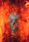 hellfire - stock illustration