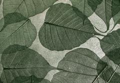 decorative wall-paper - stock photo