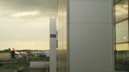 Stock Video Footage of Reflections on Stansted airport
