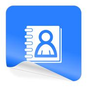address book. - stock illustration