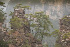 Wulingyuan mountain in China Stock Photos