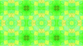 Green Mosaic cubes background, loop. Footage