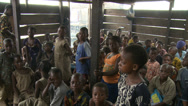 Stock Video Footage of Kids and teacher in shanty school. Makoko