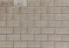 Cinderblock Wall Backdrop - stock photo