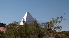 Hunt's Tomb at Papago Park. Phoenix, Arizona, USA. Stock Footage