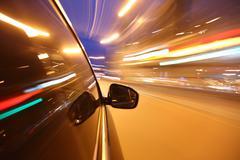 Stock Photo of night drive