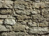 Stock Photo of detail of a wall relief ancient fortification