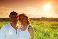 sunrise lowers - stock photo