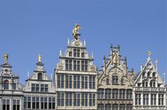 Grote-Markt in Antwerpen - stock photo