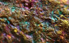 Multi-coloured metal background Stock Photos